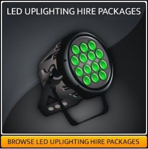 Light up Uplighters for Hire in London