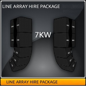 LINE ARRAY PACKAGE 7KW