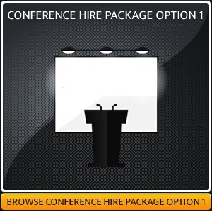 CONFERENCE HIRE PACKAGE