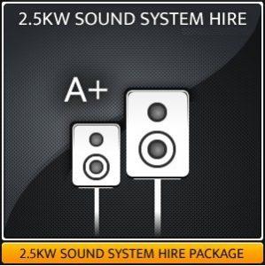 2.5KW SOUND SYSTEM