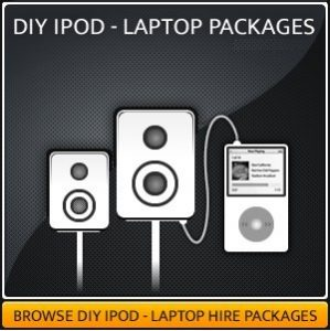 DIY Speaker Sound System Hire Packages