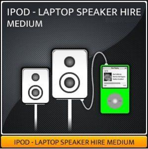 MEDIUM IPOD Speaker Hire Package