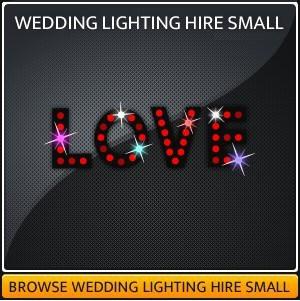 Hire the best wedding lighting in Surrey
