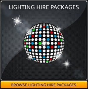 Disco & Party Lighting Equipment Hire
