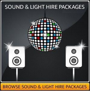 Sound & Lighting Hire Package