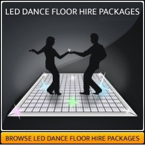 LED Dance Floor Hire packages