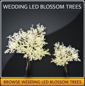 Wedding LED Blossom Tree Hire
