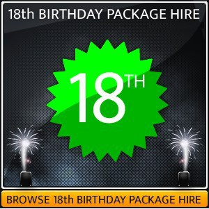 18th Birthday Party Sound & Light Hire Package