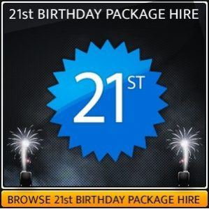 21St Birthday Sound & Lighting Package