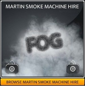 Martin Smoke Machine Hire