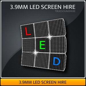3.9mm LED Video Wall Hire Packages