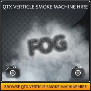 Vertical Smoke Machine Hire