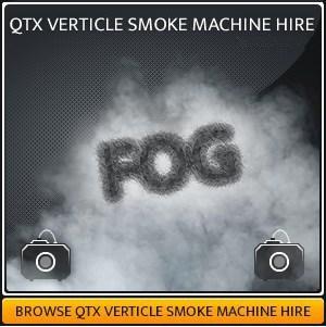 Vertical Smoke Machine Hire
