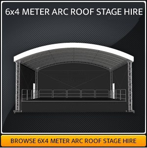6-Meter x 4-Meter Stage Hire in London & Surrey