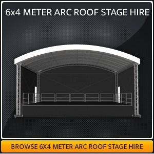 6-Meter x 4-Meter Stage Hire