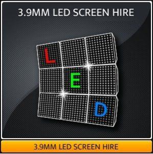 3.9MM LED Screen Hire