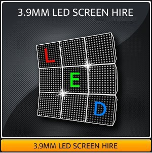 3.9MM LED Screen Hire