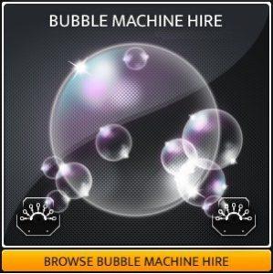 Hire a professional bubble machine in Surrey