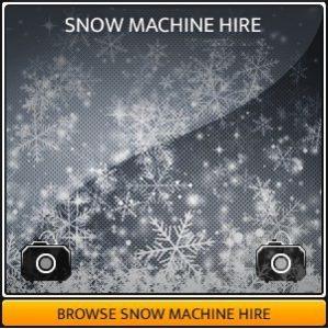 Snow Machine Hire in London & Surrey