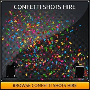 Confetti Shot Hire in Surrey