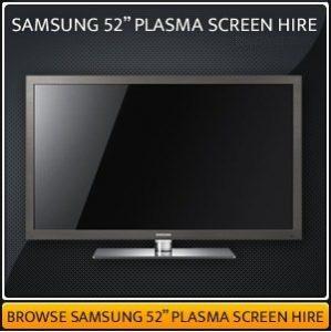 Plasma TV Screen Hire London