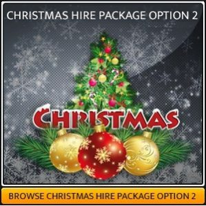 Christmas Sound & Lighting Package