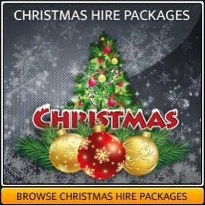Christmas sound & light hire package