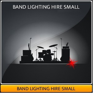 A Small Live Band Lighting Hire Package