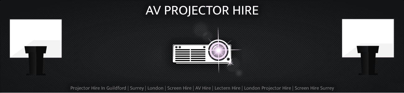 AV Projector Hire Package