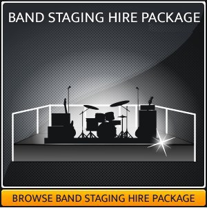 Hire A Stage Platform For A Live Band