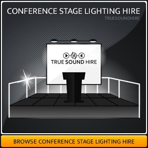 Conference Stage Lighting Hire