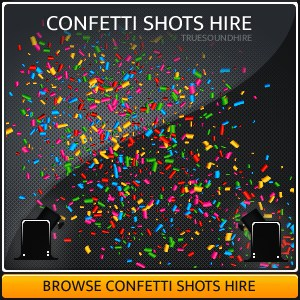 Confetti Shots Hire Packages