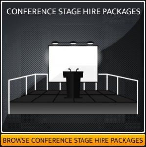 Hire A Conference Stage Platform