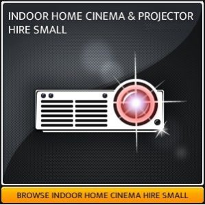 Indoor Projector & Screen Hire Package