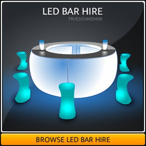 LED Bar Hire Packages