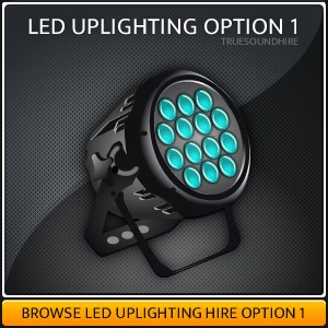 LED Uplighting HIre Package