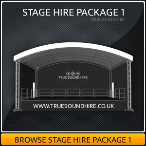 Outdoor Stage Hire Packages 1