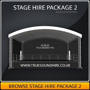 Outdoor and Indoor Stage Hire Package Hire 2