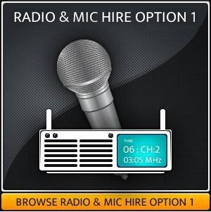 Hire A Handheld Radio Mic