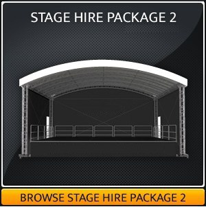 Festival Stage Hire package