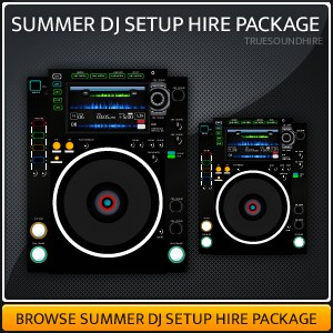 Summer DJ Package Hire